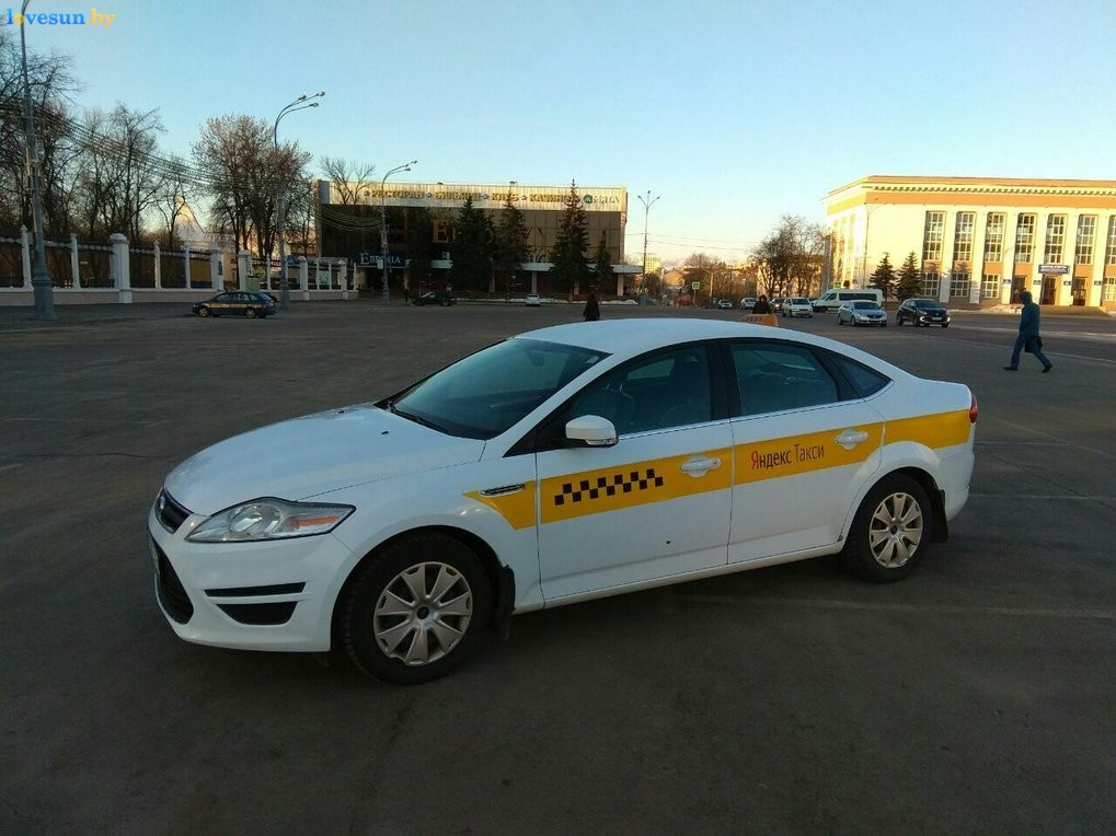 Яндекс такси в Гомеле