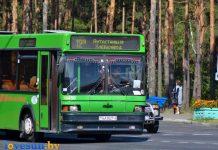 автобус МАЗ маршрут 12А автостанция хлебозавод