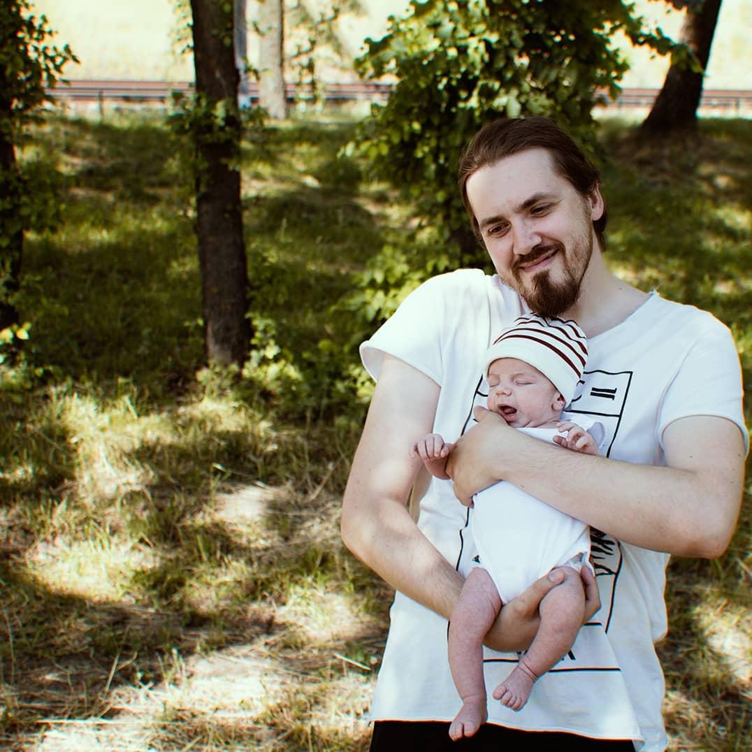 Александр Демиденко и его сын Франциск