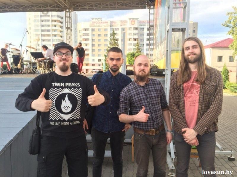 группа реликт Re1ikt на день молодежи в светлогорске в 2015 году