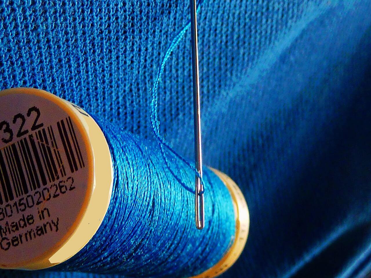 нитки иголка сделано в германии