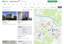 скрин нового сайта недвижимости куфар недвижимость