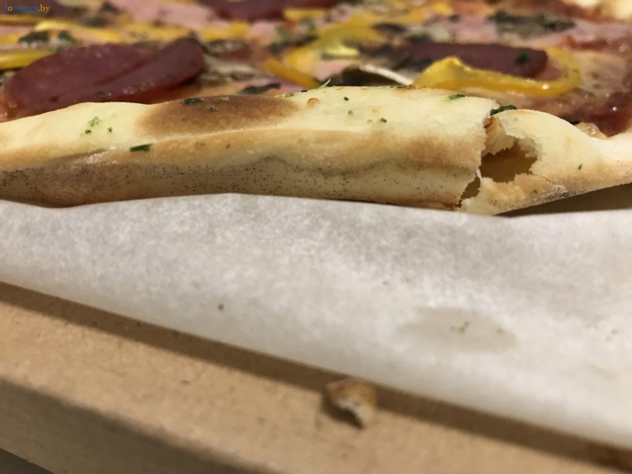 тесто в пицце все готово евроопт