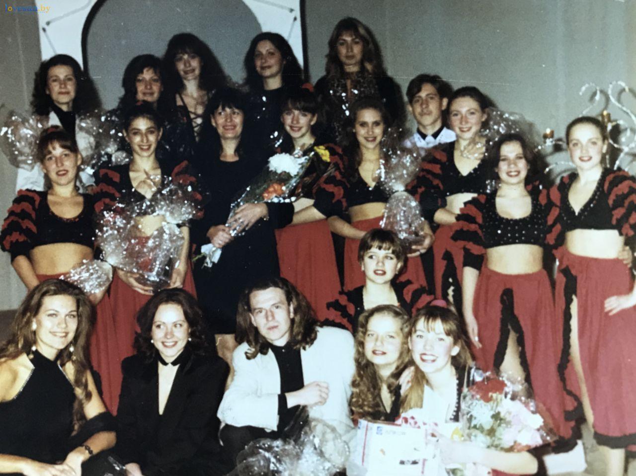На десятилетнем юбилее группы «Вояж» 1998 год