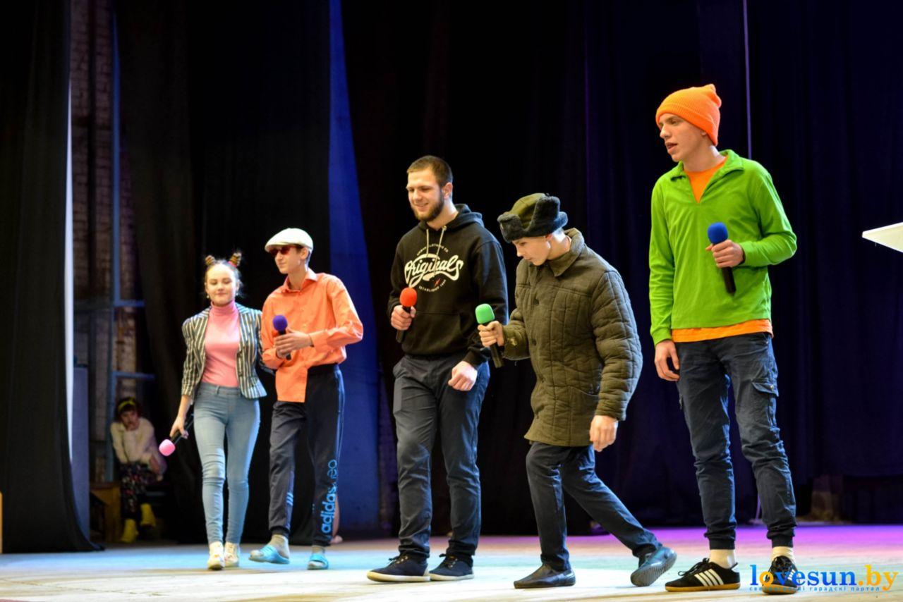 Выступление на турнире КВН в Светлогорске, Команда КВН