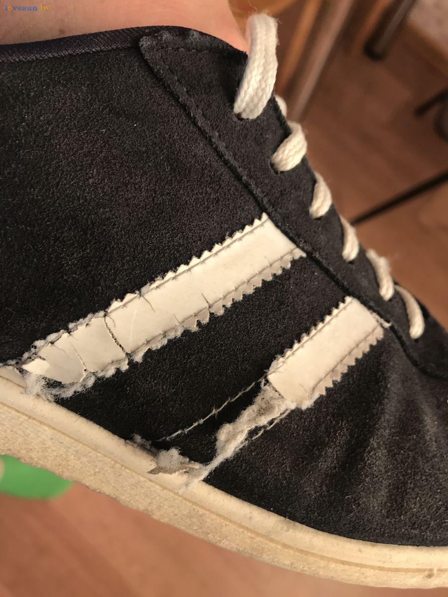 Классические лидские кеды порвались полоски
