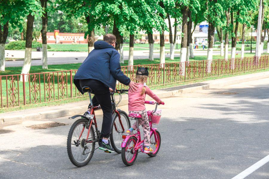 велопробег 2019 отец и дочка