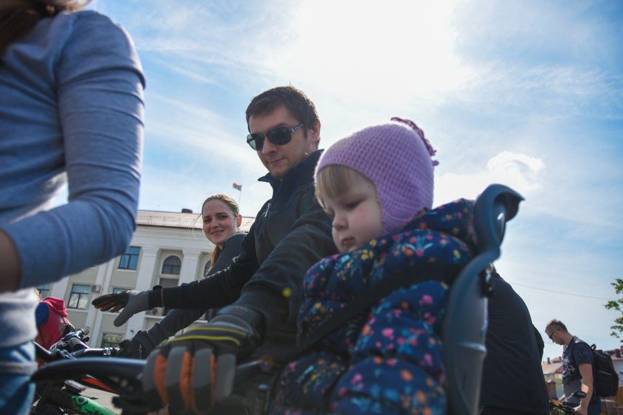 велопробег 2019 ребенок в велокресле