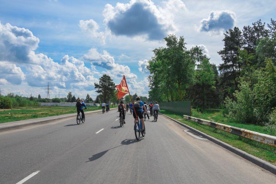 велопробег флаг светлогорска