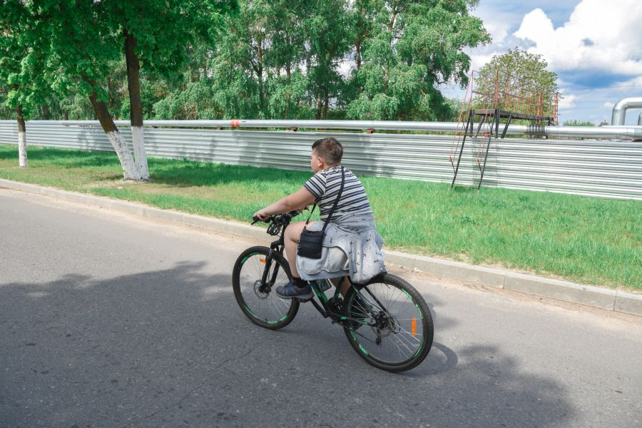 велопробег 2019 мальчик