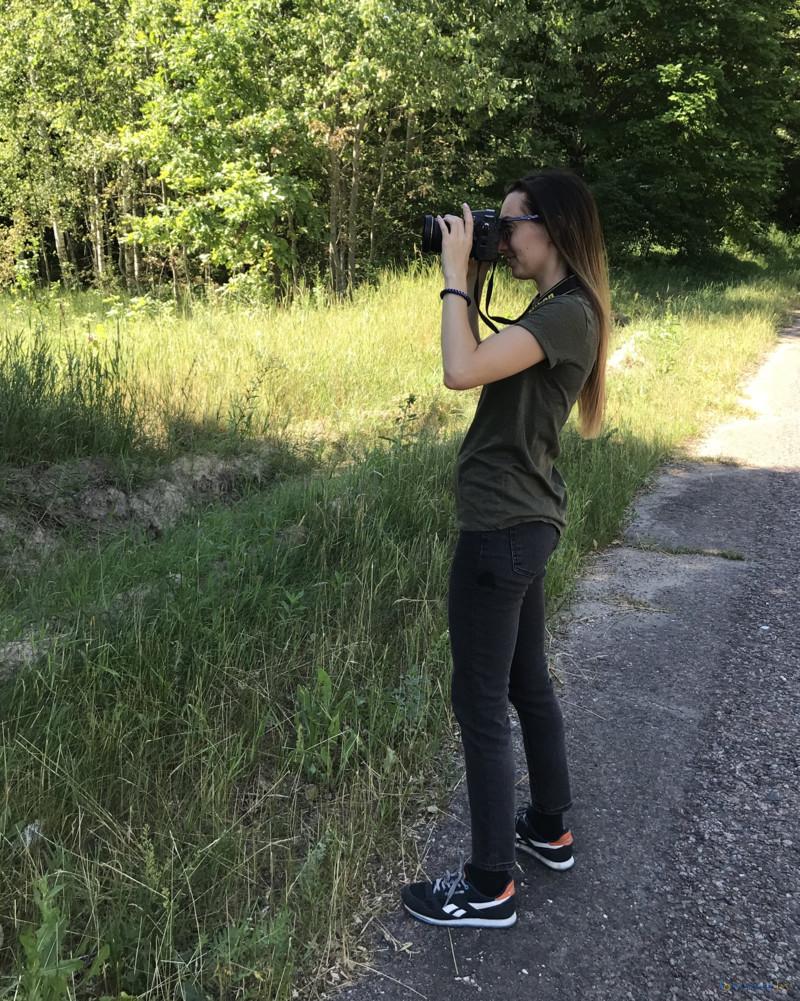 фотограф в зоне отселения