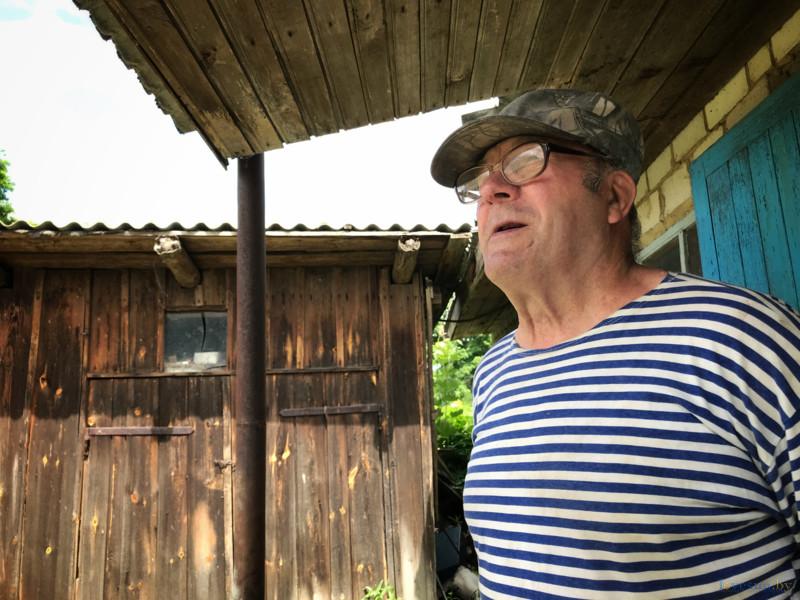 Николай Дорошенко - последний житель деревни Демьянки