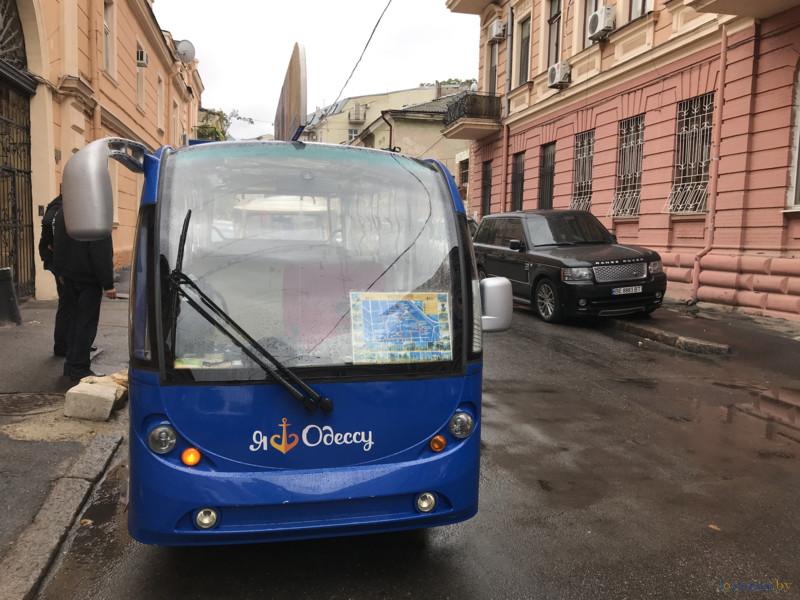 Одесский туристический автобус