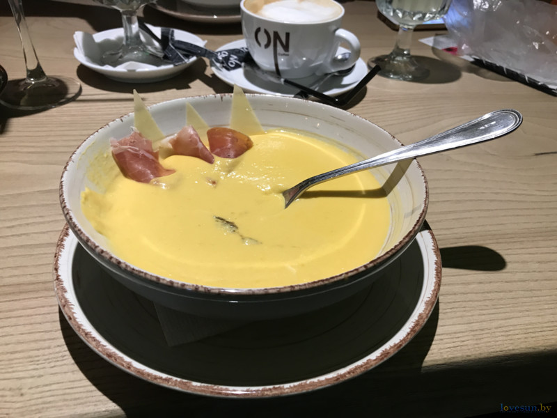 Тыквенный крем-суп в Одессе