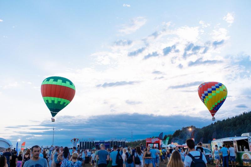 воздушные шары на Вива Браслав
