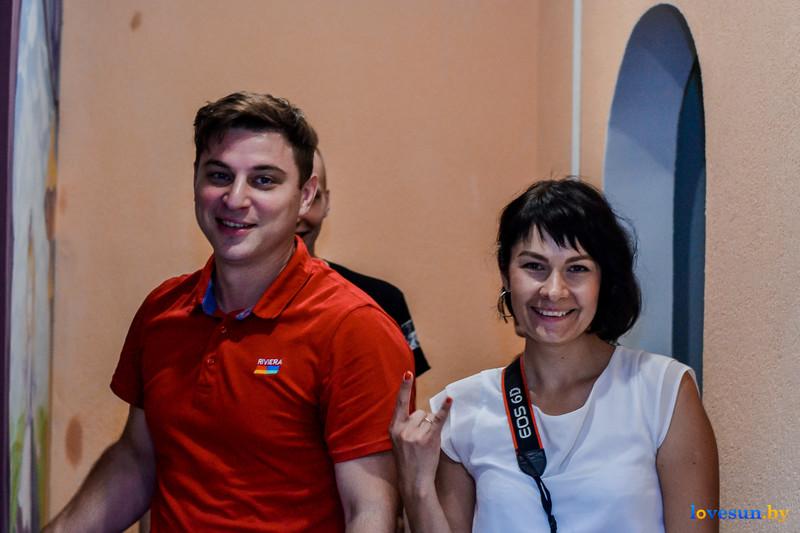 Леша Кава и Ольга Ананич