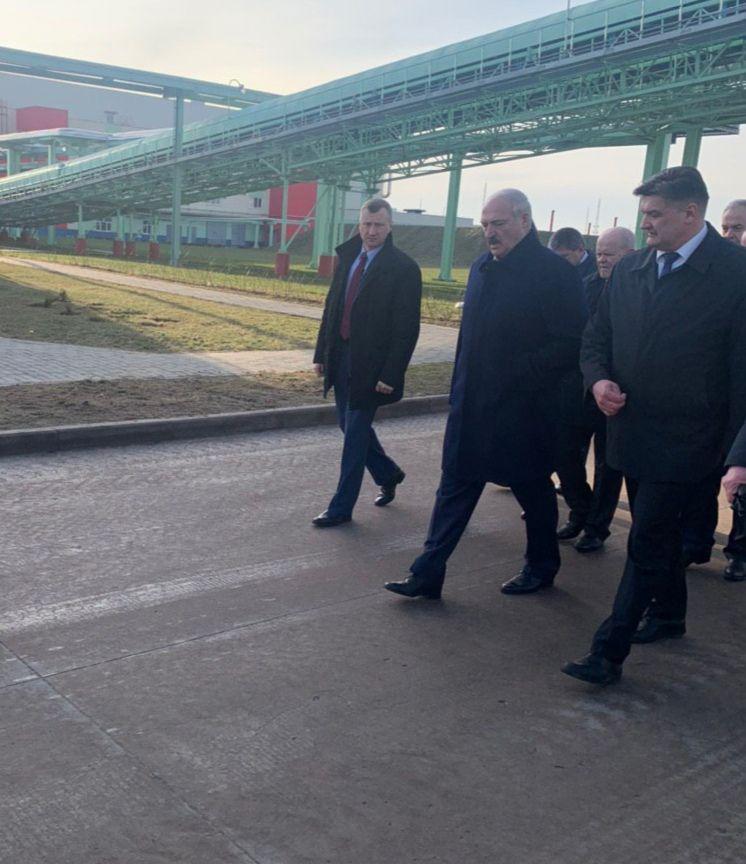 Лукашенко в Светлогорске на ЦКК