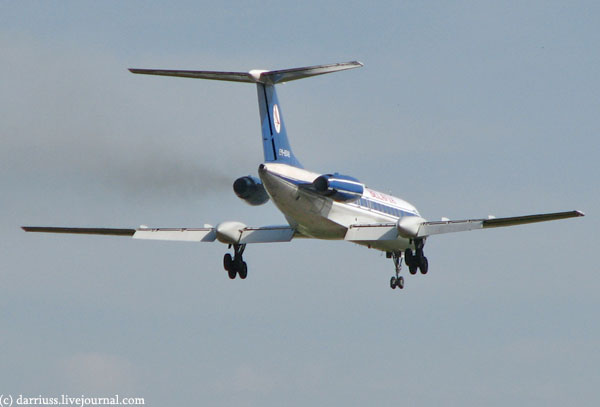Последний Ту-134 Белавиа