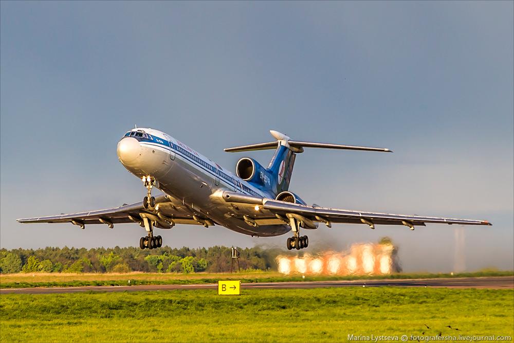 Ту-154 компании «Белавиа»