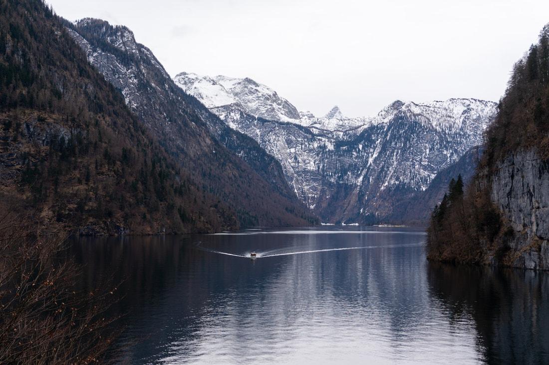 горы в германии