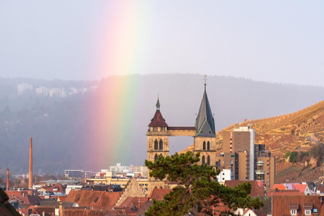 радуга в германии