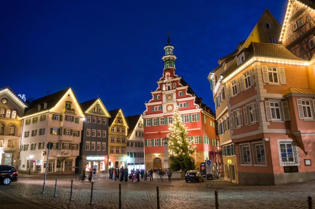 Главная площадь города Эслинген