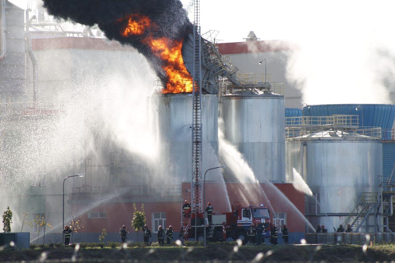 Пожар на Светлогорском ЦКК