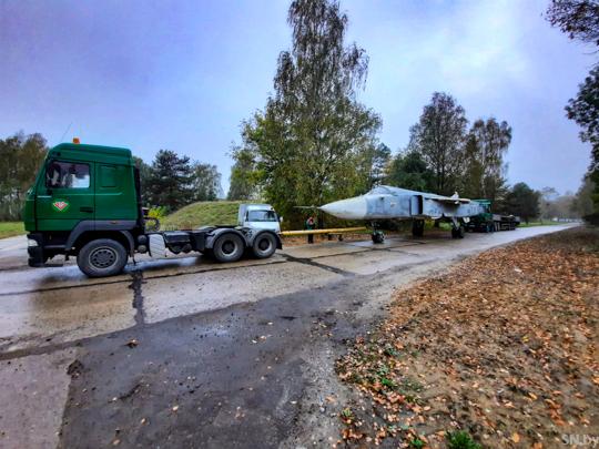 самолет су-24 ВВС Беларуси