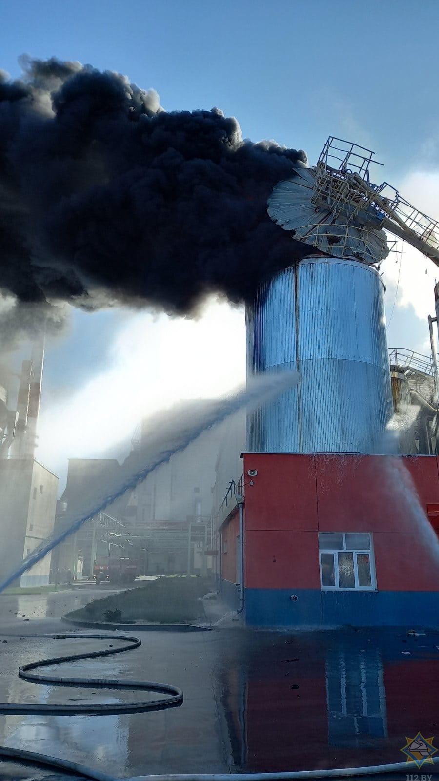 Пожар на ЦКК Светлогорском