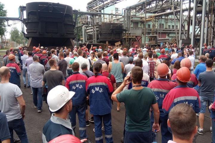 протесты на БМЗ