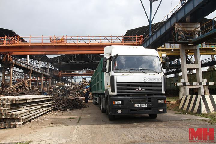 грузовик металлолом