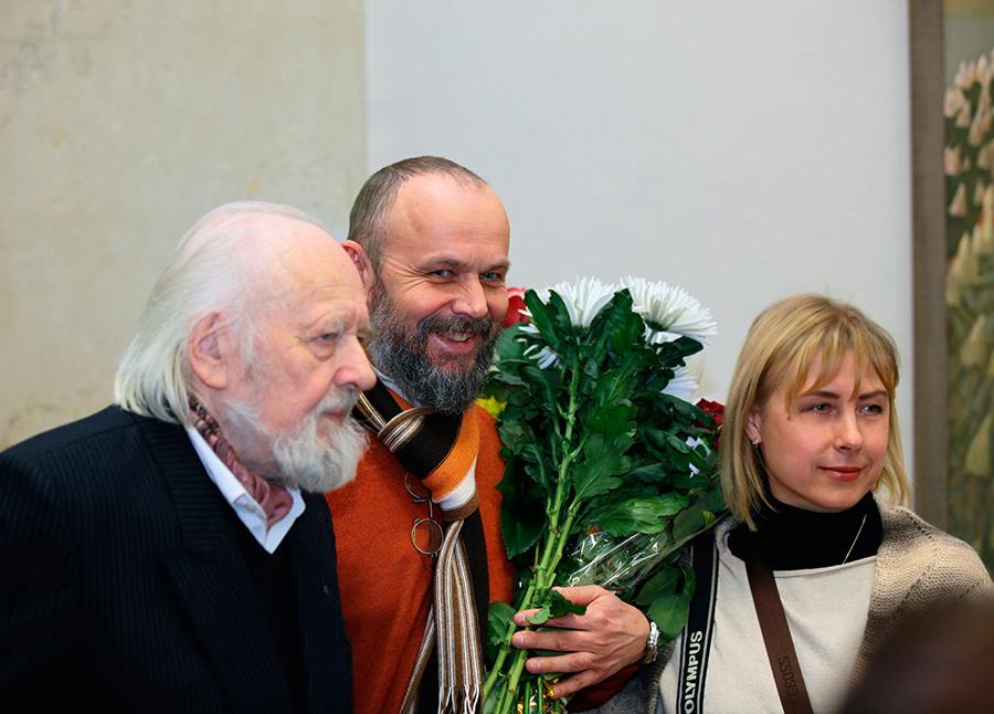 Гавриил, Константин и Елена Ващенко
