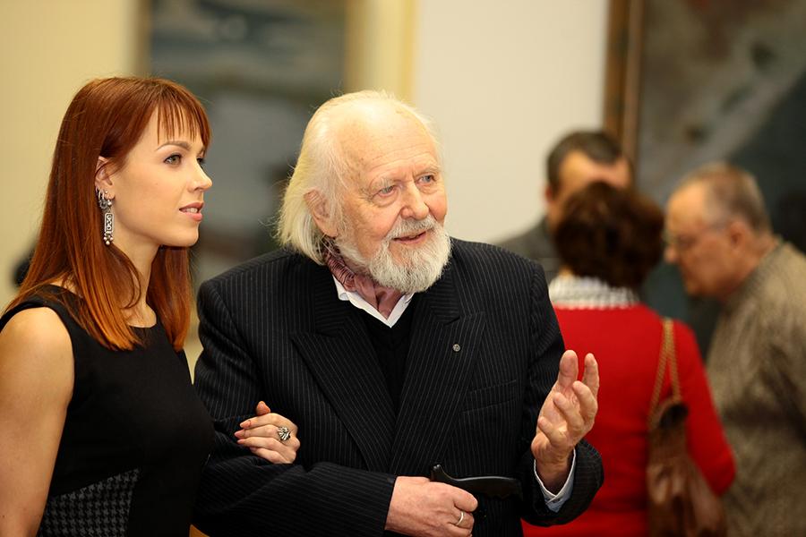 Гавриил Ващенко с внучкой Яной